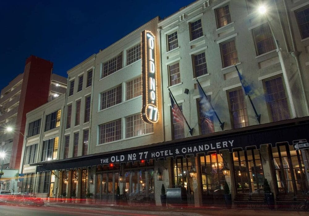 The Old No. 77 Hotel and Chandlery in New Orleans