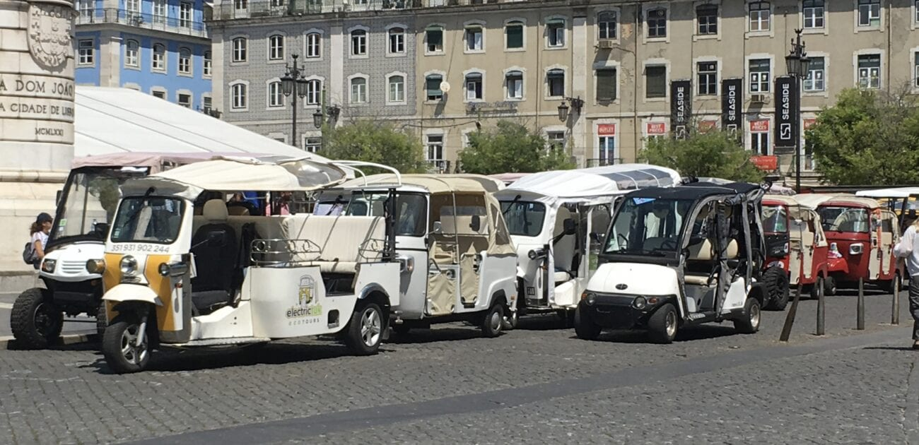 A TUK-TUK TOUR  of LISBON.